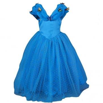 Cinderella Butterfly Dress For Girls