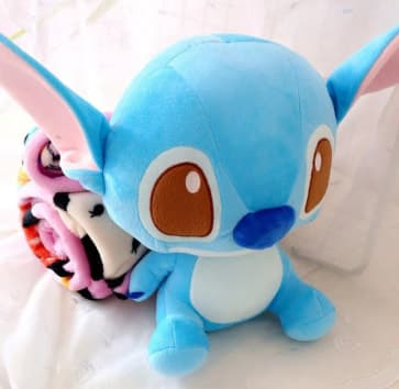 Stitch Plush Doll Blanket Combo 35cm (14 inches) Doll With 1.5m (5 feet) Blanket