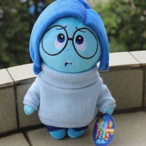 Disney Pixar Inside Out Sadness 28cm Stuffed Toy 11 inches
