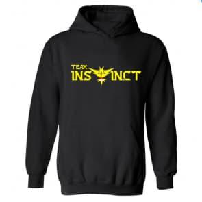 Pokemon Go Yellow Team Instinct Hooded Sweatshirt