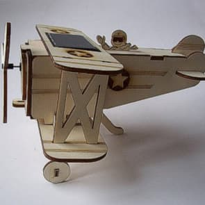 DIY Solar Kits Wood Solar Plane