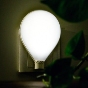 Smart Night Light Cute Hot Air Ballon with Light & Sound Controlled Function