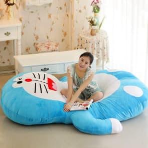 Giant Doraemon Plush Pillow Bed 220cm 7.2ft