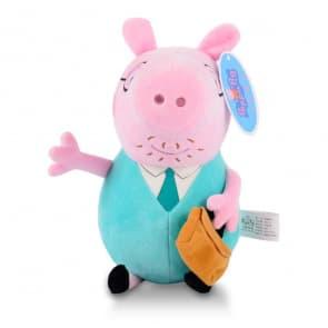 Peppa Pig Daddy Pig Plush Doll Toy 30cm 12 inches