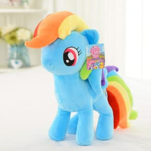 "My Little Pony Rainbow Dash 16"" Large Plush Doll Toy"