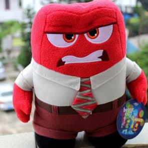 Disney Pixar Inside Out Anger Plush 22cm Stuffed Toy 7 inches