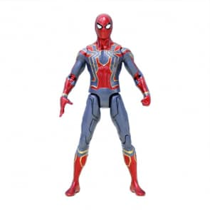 20cm Collectible Iron Spider Man Action Figure