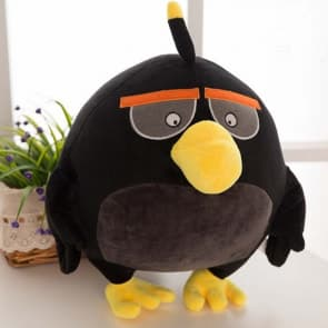 Angry Birds Black Bomber Plush Stuffed Toy 40cm 16 inches