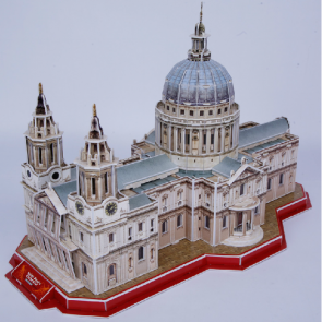 3D Model Puzzle Cubic Fun-St. Paul Cathedral