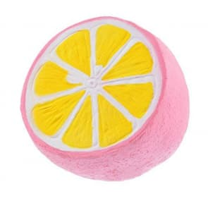 Jumbo Slow Rising Squishies Squishy Scented Pink Lemon Squishy Toy